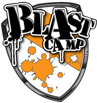 Blast camp logo
